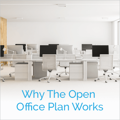 Why Open Office Space Works