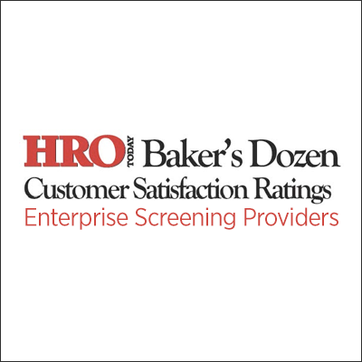 JDP Named a Top Enterprise Screening Provider by the 2018 HRO Today Baker's Dozen Customer Satisfaction Survey