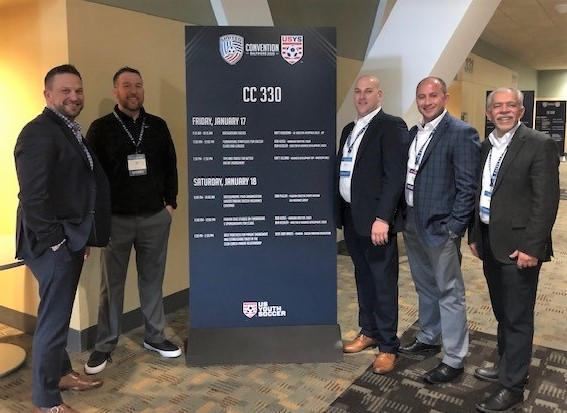 JDP at US Soccer Coaches and Youth Soccer Convention 2020
